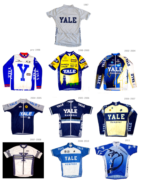 Yale Cycling Jerseys
